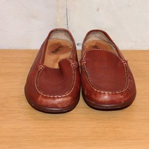 Size 7 Born Leather Slip On Shoes